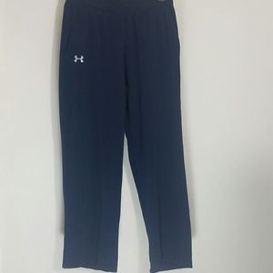 Under Armour navy blue logo sweatpants